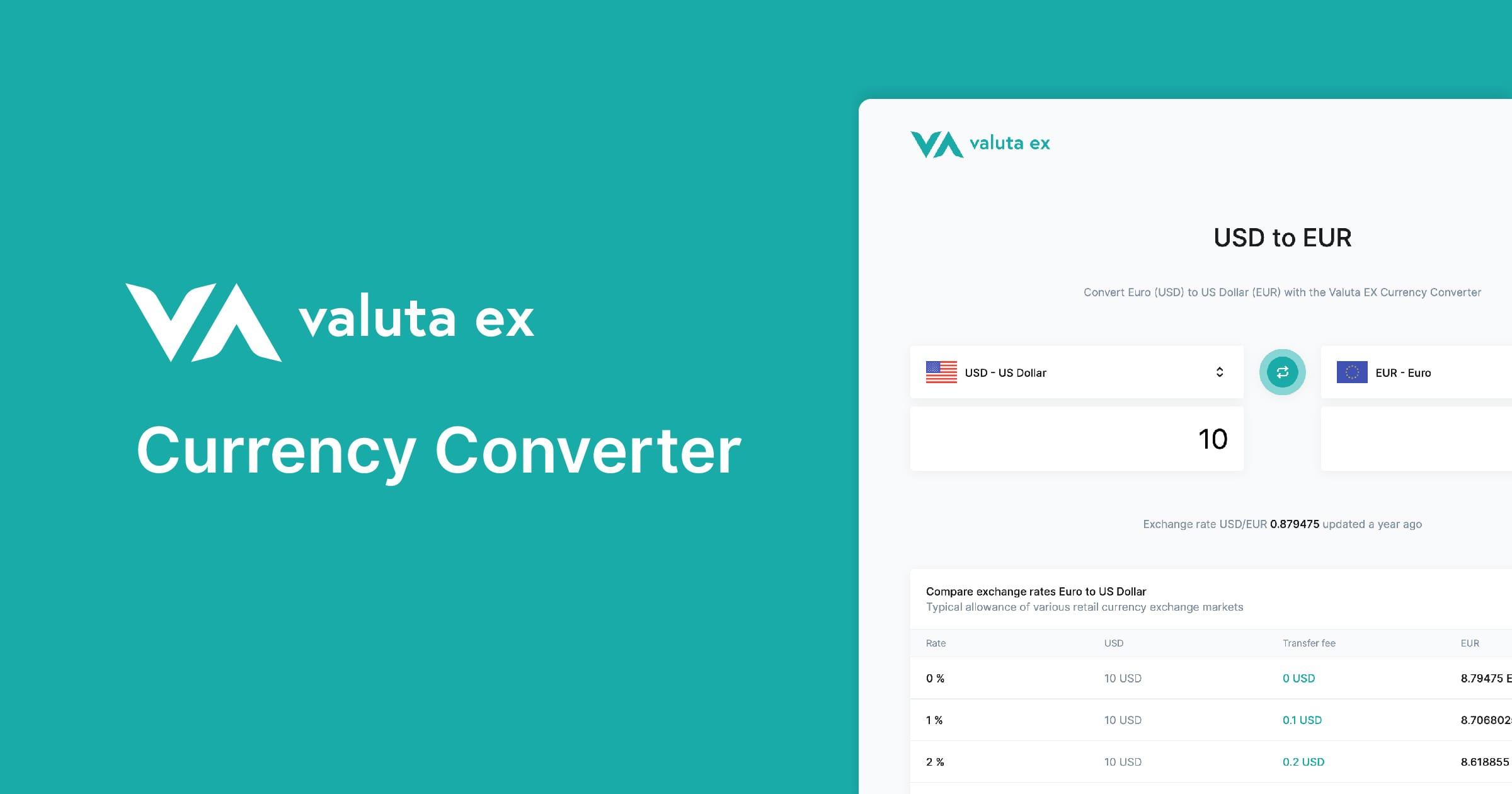 Valuta Ex Currency Converter